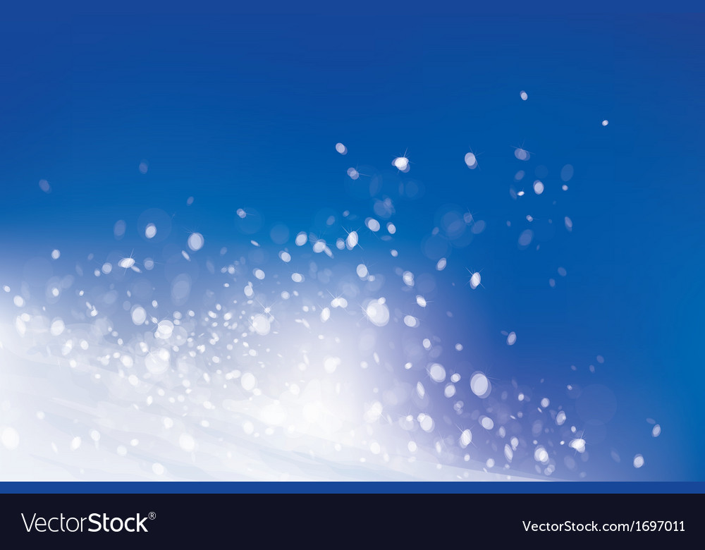 Snow sky vector | Price: 1 Credit (USD $1)