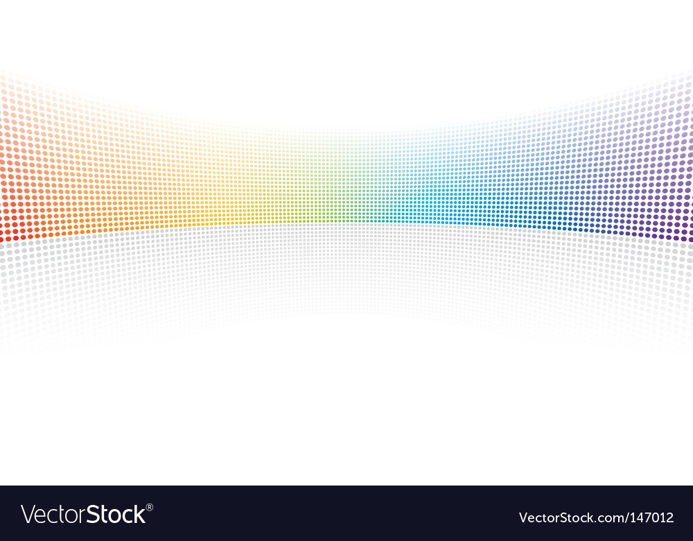 Color spectrum dots vector | Price: 1 Credit (USD $1)