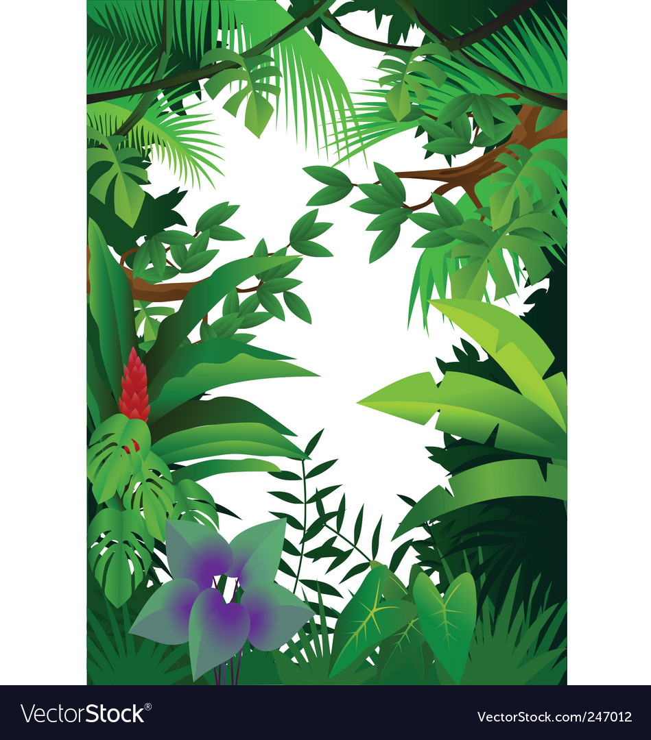 Jungle vector | Price: 1 Credit (USD $1)