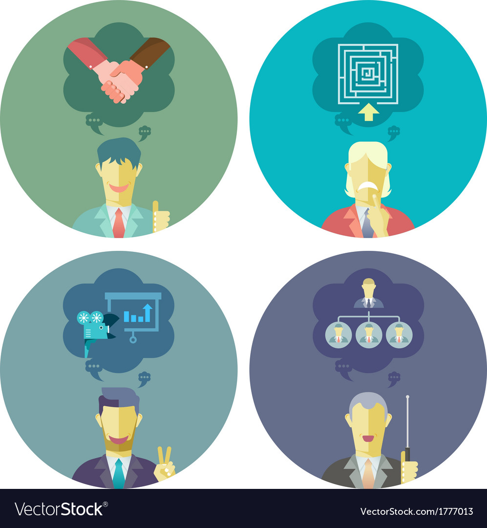 Business and management set 1 vector | Price: 1 Credit (USD $1)