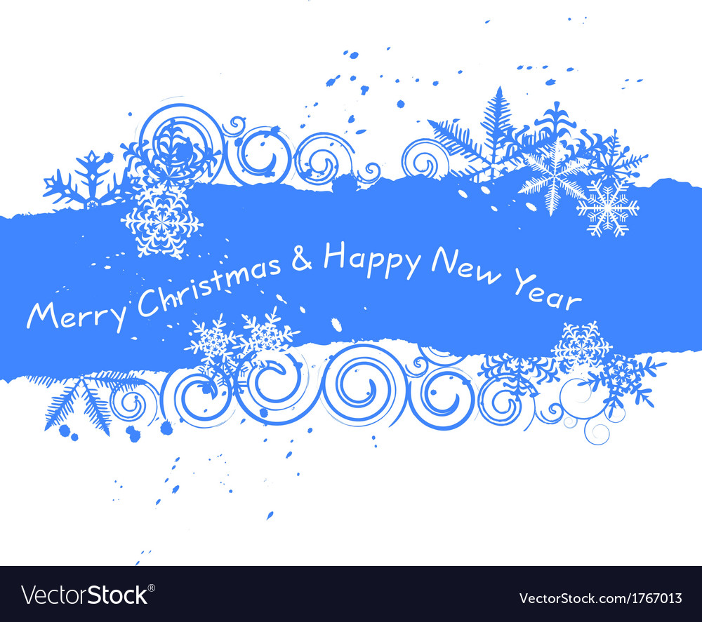 Christmas background - snowflake vector | Price: 1 Credit (USD $1)
