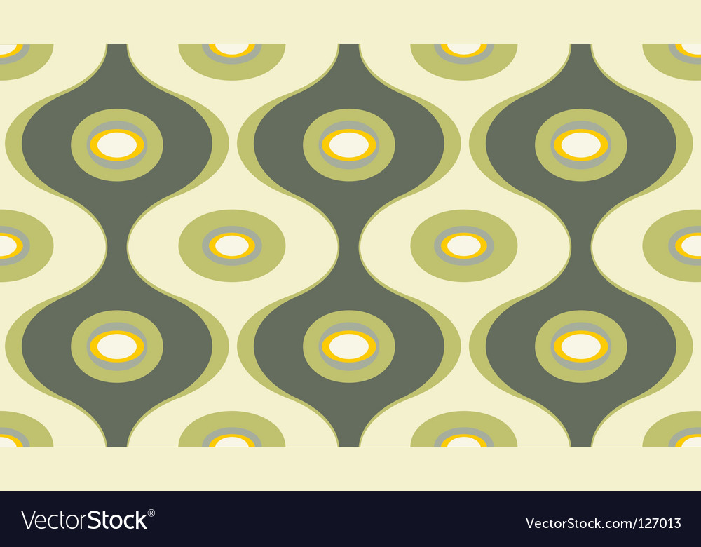 Wallpaper seamless pattern vector | Price: 1 Credit (USD $1)