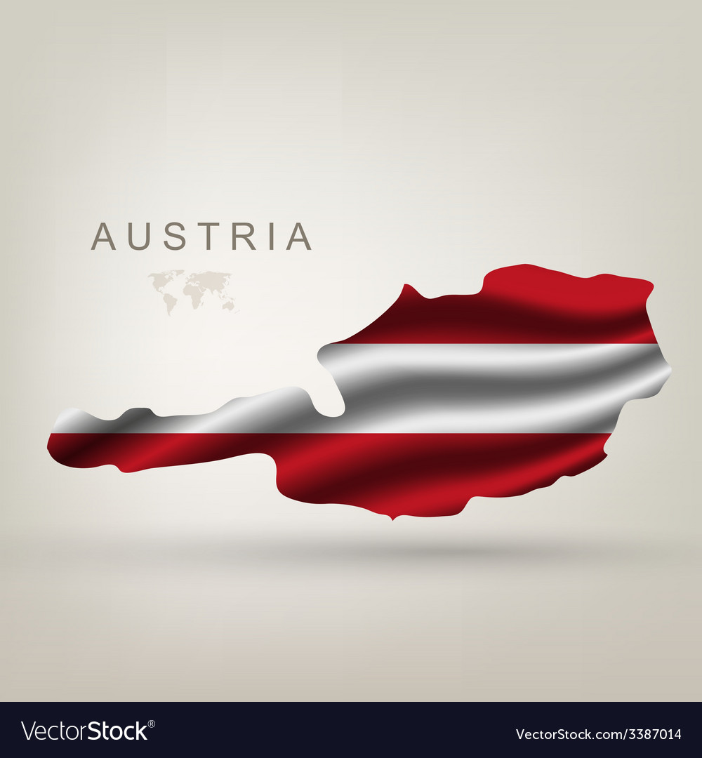 Flag of austria as the country vector | Price: 3 Credit (USD $3)