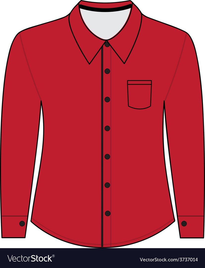 Shirt with long sleeves vector   Price: 1 Credit (USD $1)