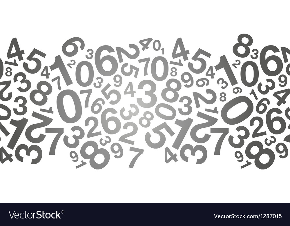 Black number background vector | Price: 1 Credit (USD $1)