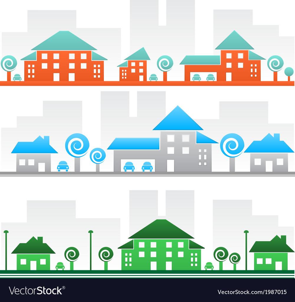 Streets vector | Price: 1 Credit (USD $1)