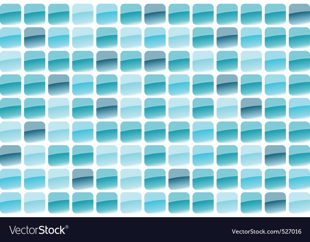 Blue mosaic vector | Price: 1 Credit (USD $1)