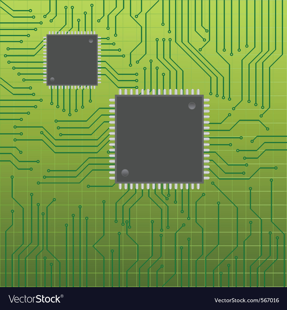Electronic board vector | Price: 1 Credit (USD $1)