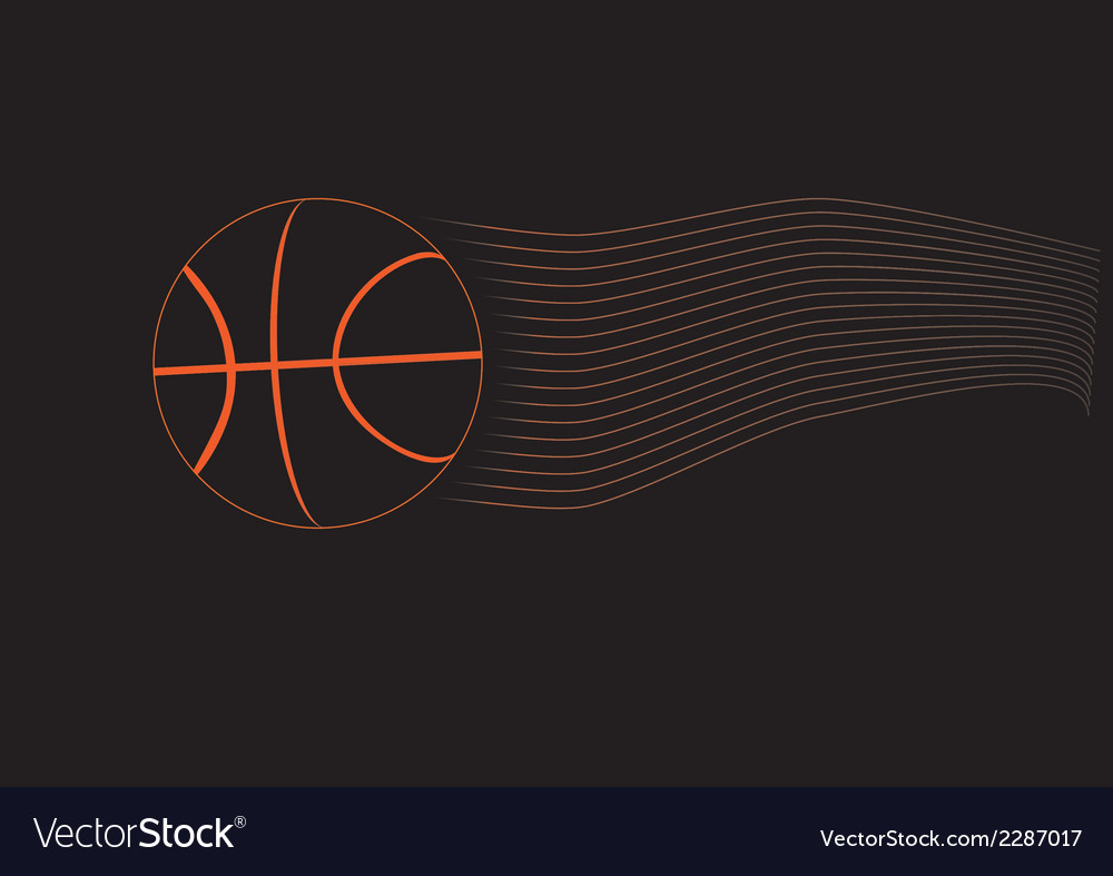 Black basketball ball vector | Price: 1 Credit (USD $1)