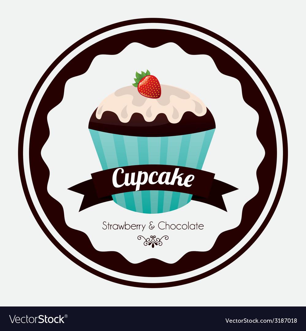 Cupcake design vector | Price: 1 Credit (USD $1)
