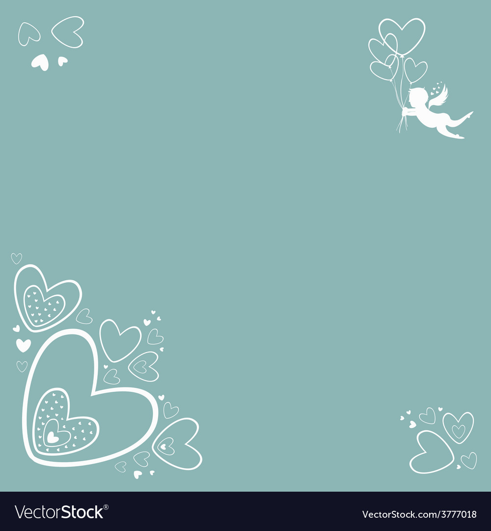 Sweetheart card vector | Price: 1 Credit (USD $1)