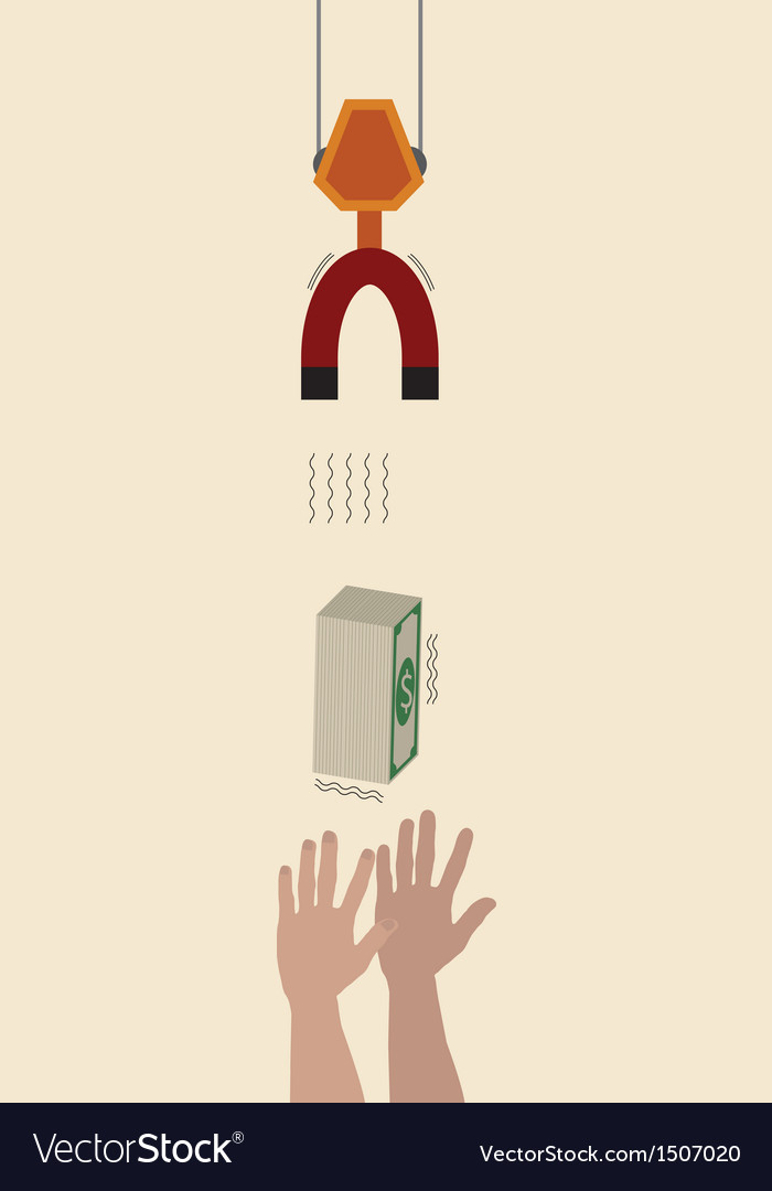 Hand reaching for money vector | Price: 1 Credit (USD $1)