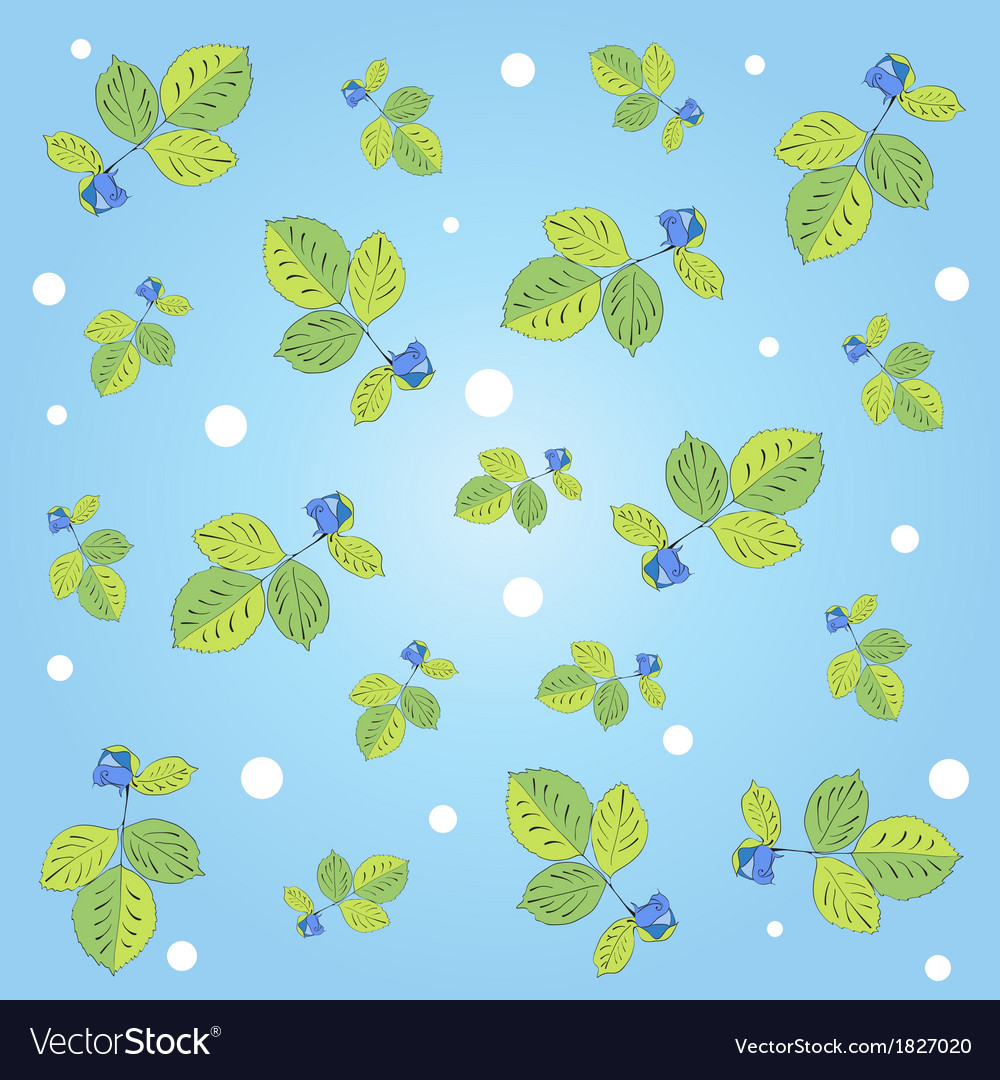 Rose pattern vector | Price: 1 Credit (USD $1)