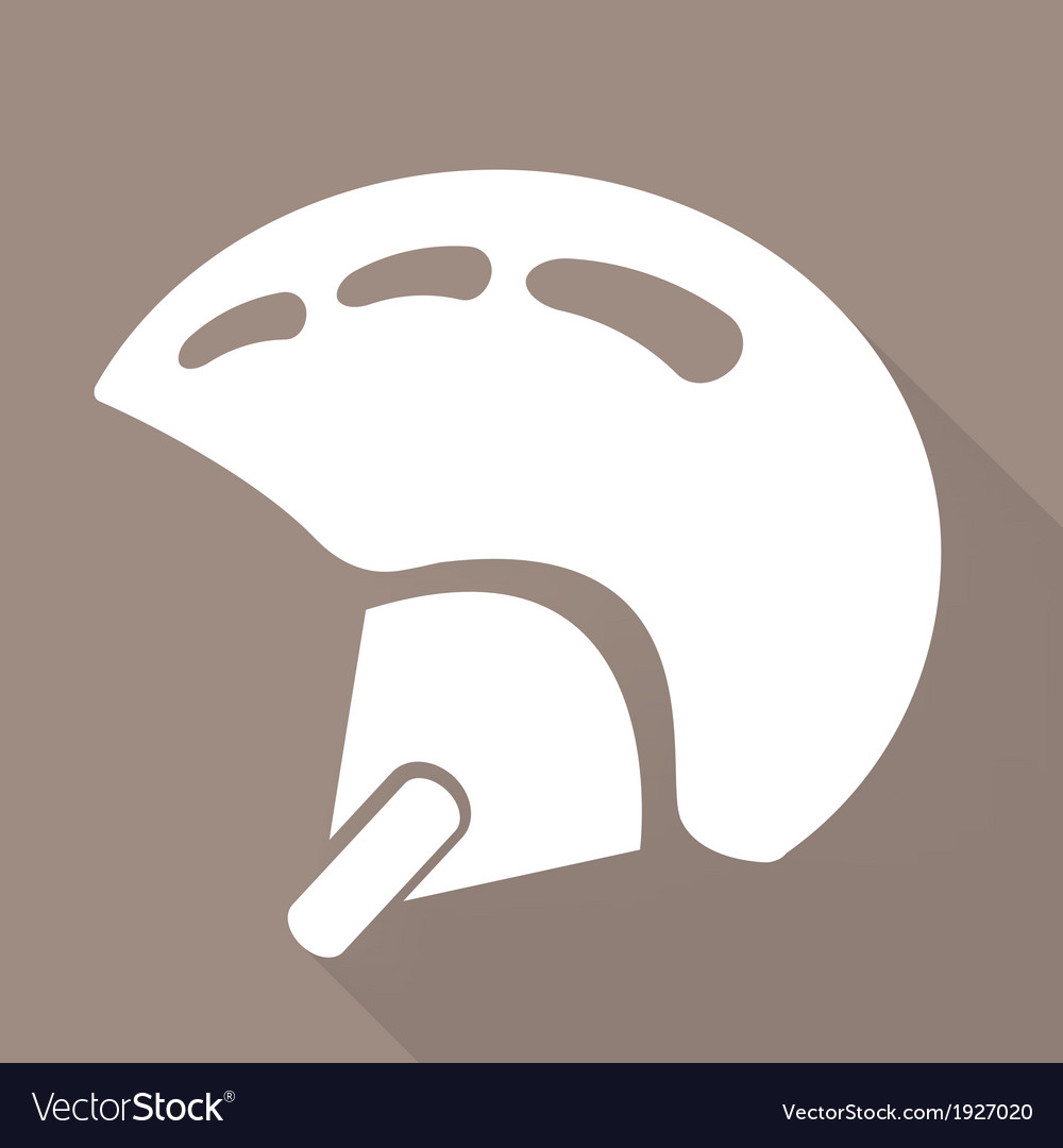Skiing helmet icon vector | Price: 1 Credit (USD $1)