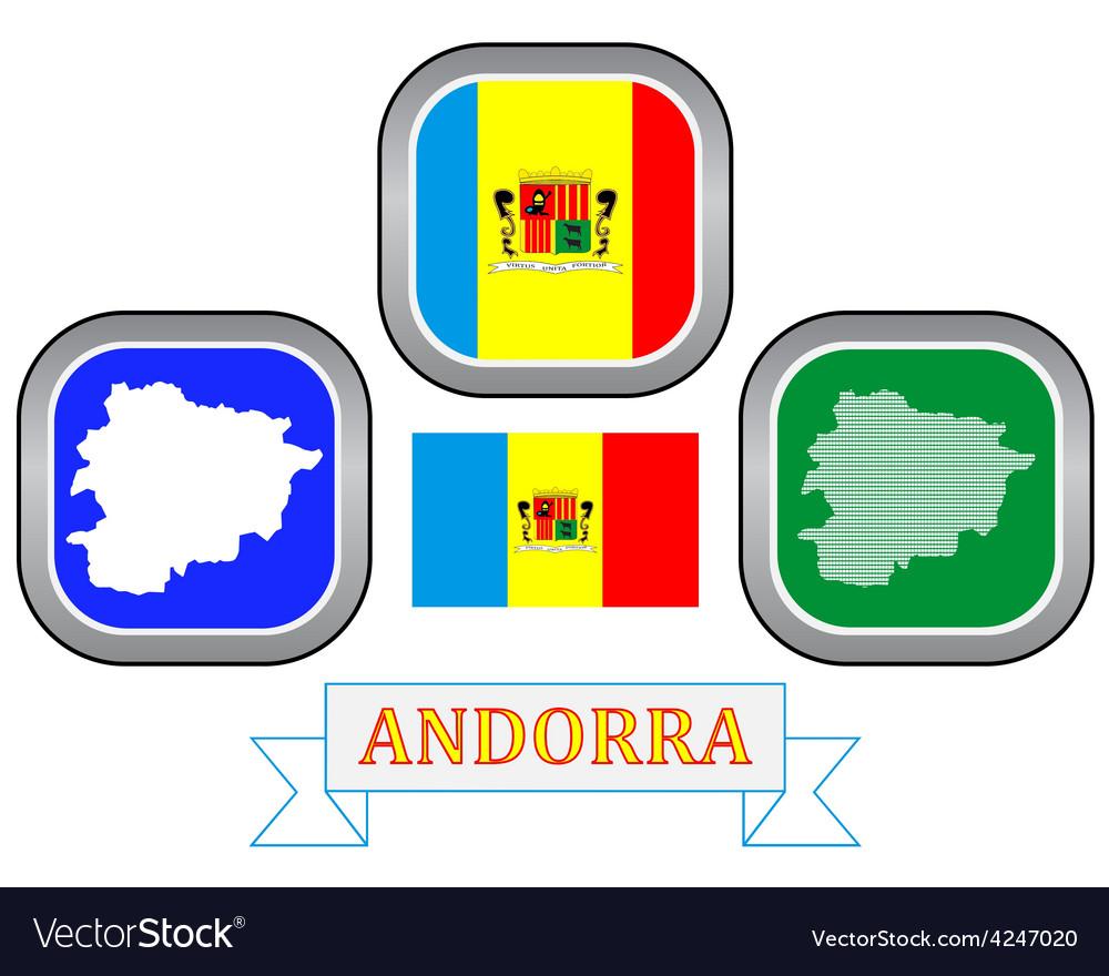 Symbol of andorra vector | Price: 1 Credit (USD $1)