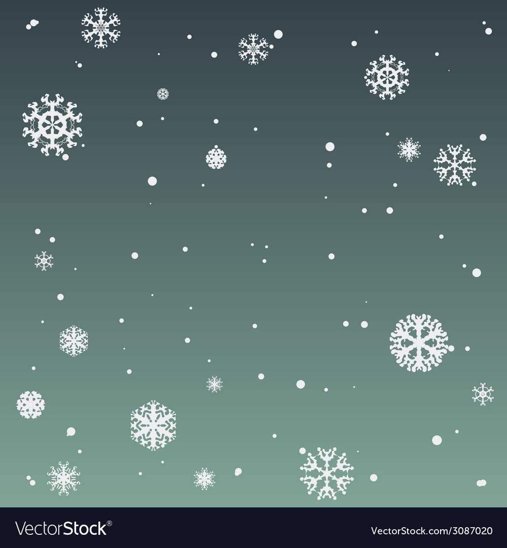 Winter background with beautiful various vector | Price: 1 Credit (USD $1)