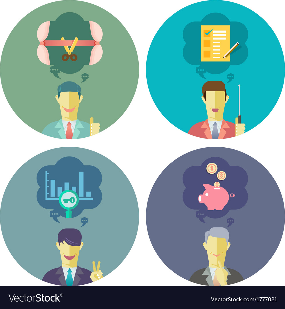 Business and management set 3 vector | Price: 1 Credit (USD $1)