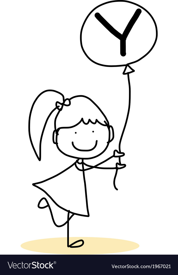 Happy alphabet hand-drawn cartoon vector   Price: 1 Credit (USD $1)