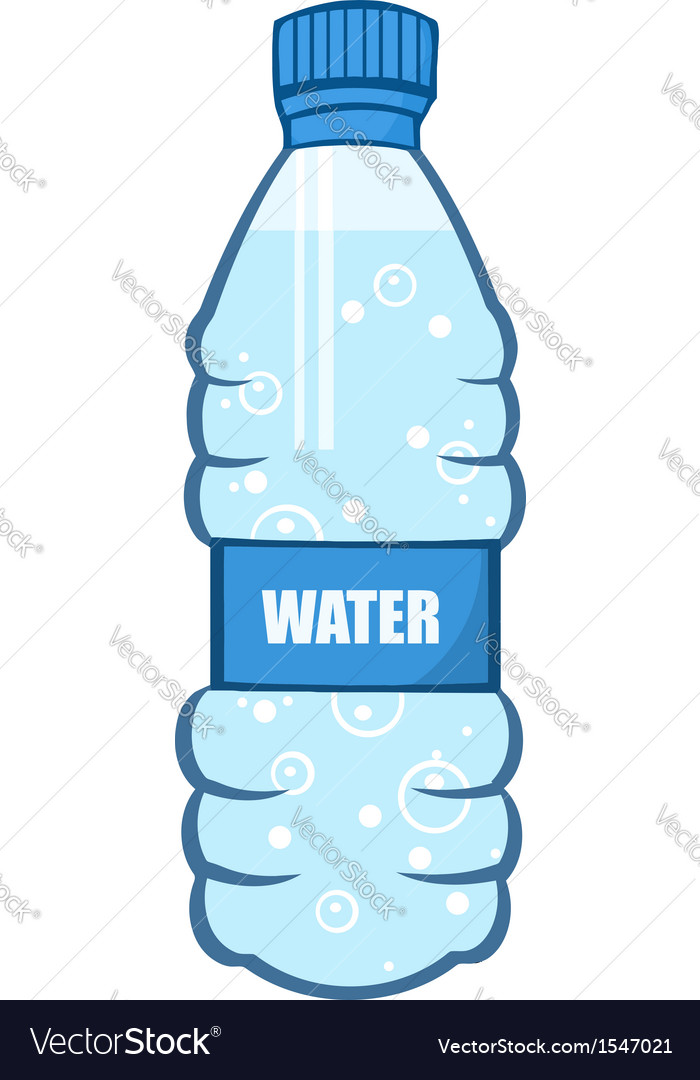 Water bottle vector | Price: 1 Credit (USD $1)