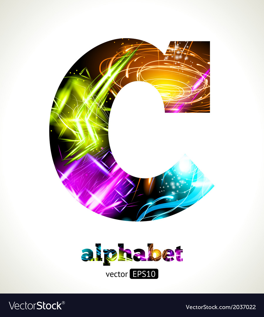 Design abstract letter c vector | Price: 1 Credit (USD $1)