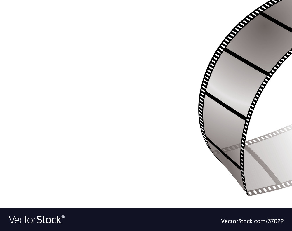 Film bend vector | Price: 1 Credit (USD $1)