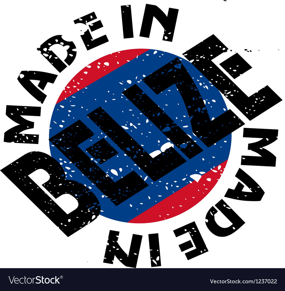 Made in belize vector | Price: 1 Credit (USD $1)