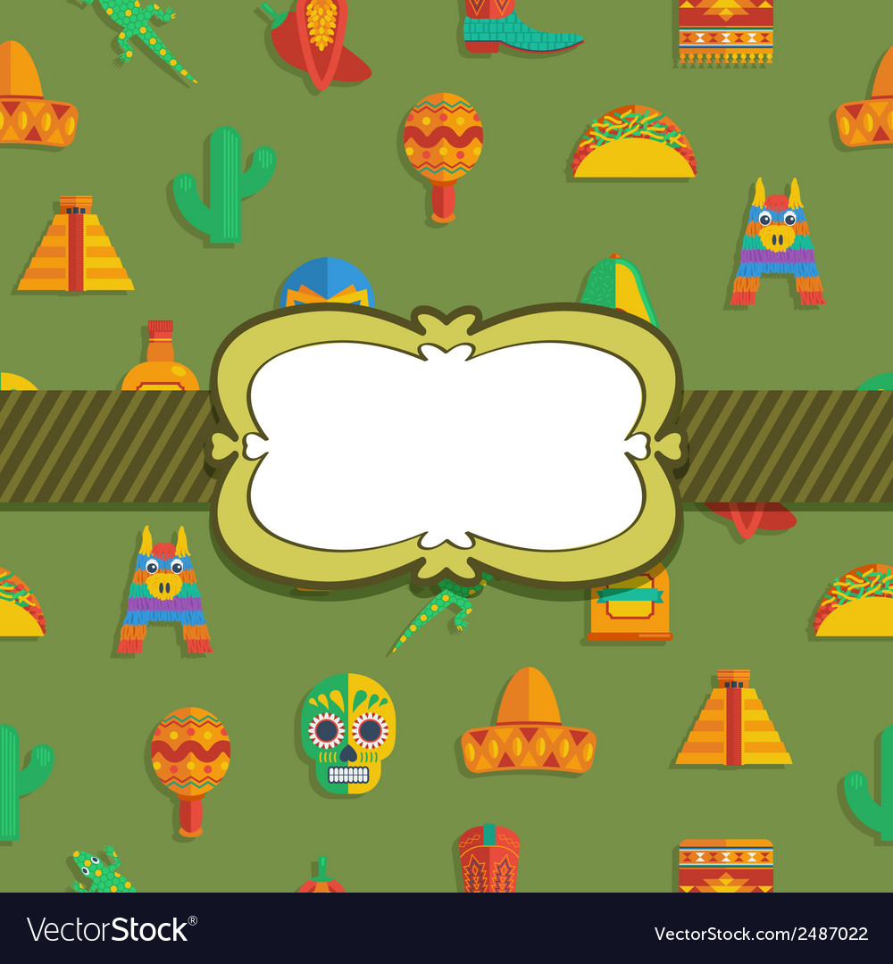 Mexican ornament vector | Price: 1 Credit (USD $1)