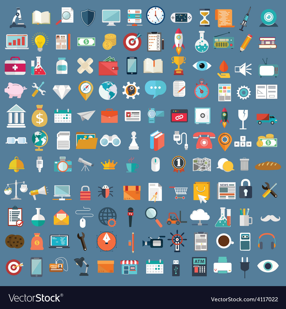 Miscellaneous web design icons vector   Price: 1 Credit (USD $1)