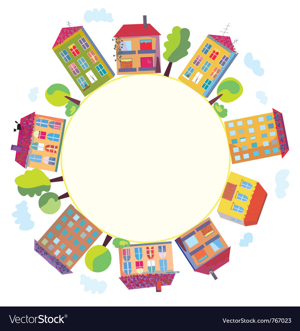 Township frame vector | Price: 1 Credit (USD $1)