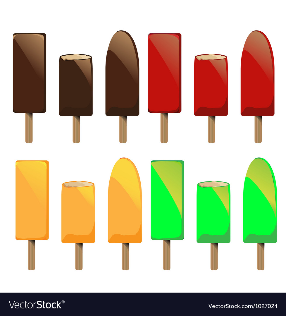 Ice lolly vector | Price: 1 Credit (USD $1)