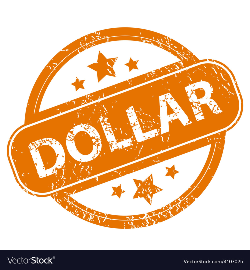 Dollar grunge icon vector | Price: 1 Credit (USD $1)