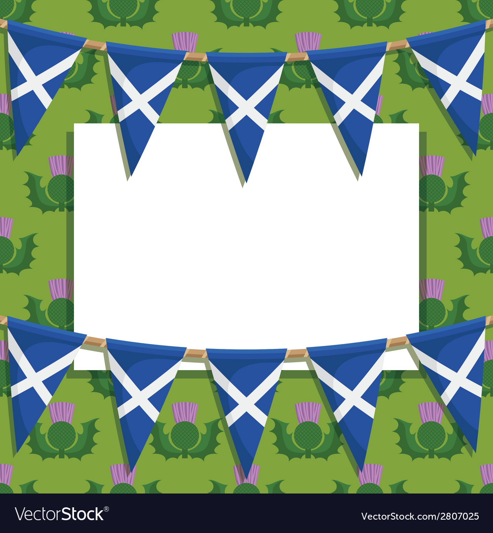 Scotland decoration vector | Price: 1 Credit (USD $1)