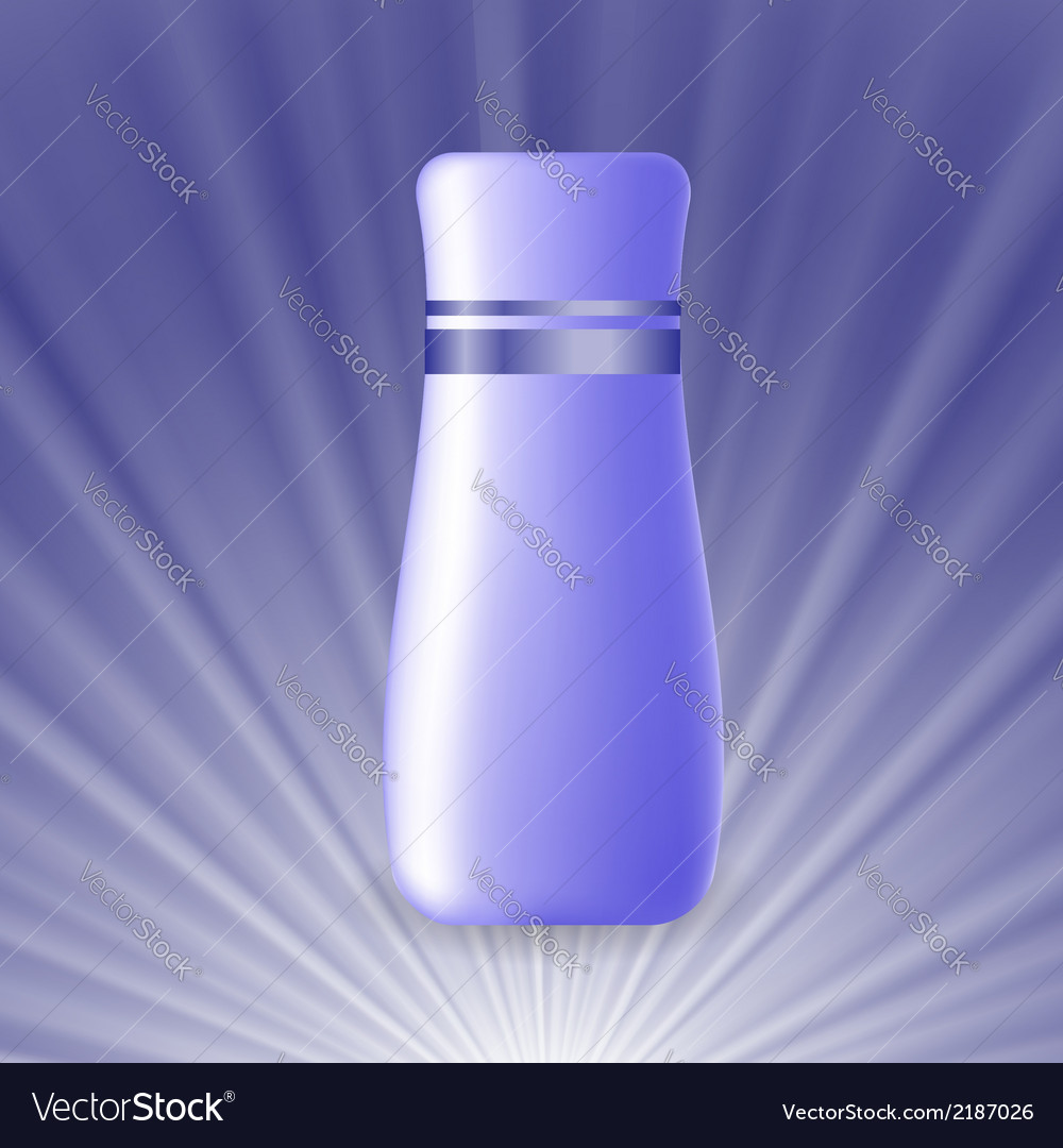 Blue cosmetic tube vector | Price: 1 Credit (USD $1)