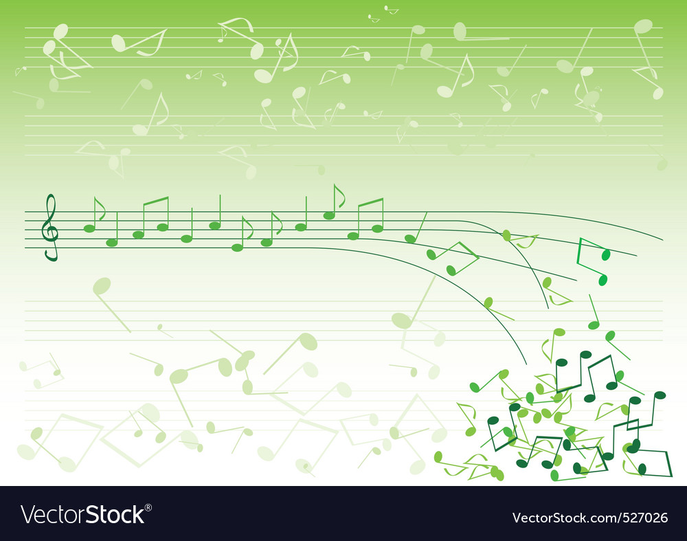 Green notes vector | Price: 1 Credit (USD $1)