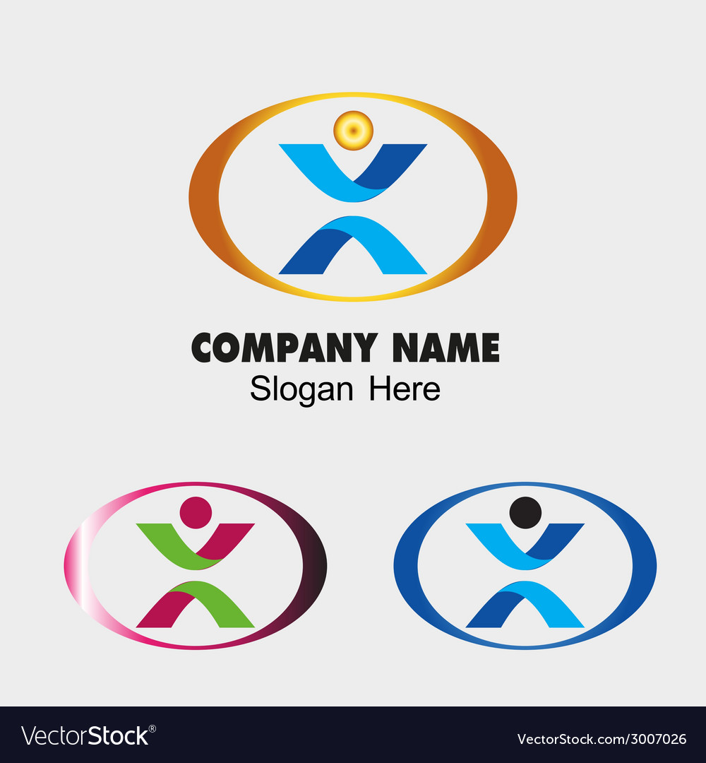 People symbol success creative concept icon vector | Price: 1 Credit (USD $1)