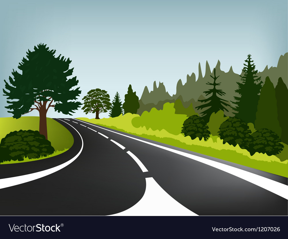 Road vector | Price: 1 Credit (USD $1)