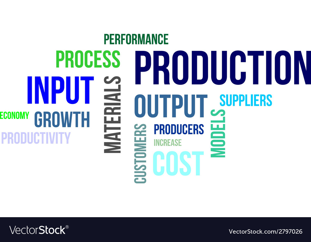 Word cloud production vector | Price: 1 Credit (USD $1)