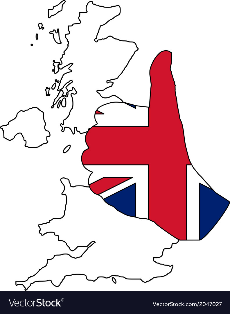 British hand signal vector | Price: 1 Credit (USD $1)