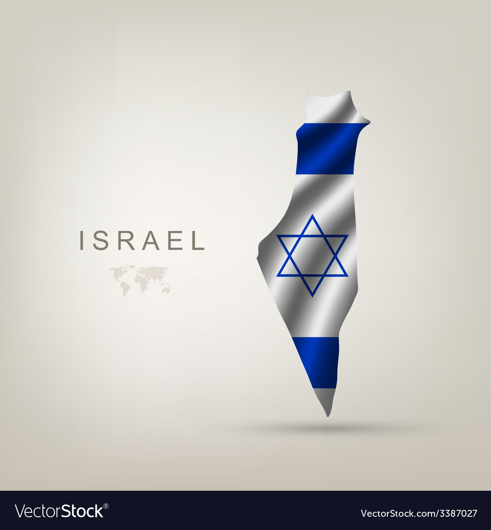 Flag of israel as a country vector   Price: 3 Credit (USD $3)