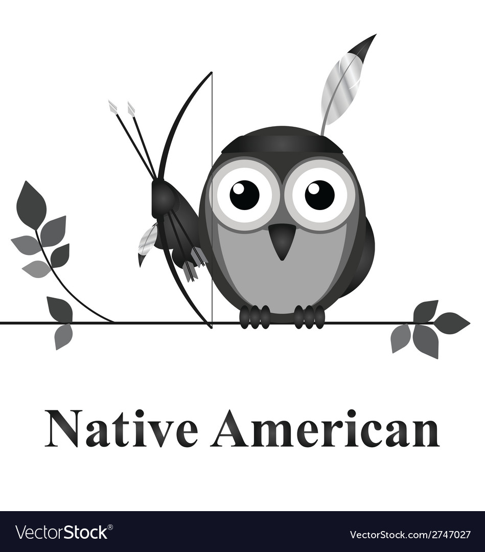 Native american vector | Price: 1 Credit (USD $1)