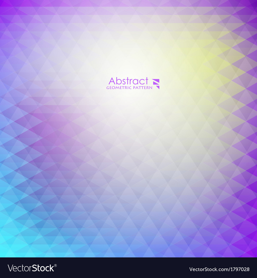 Abstract purple geometric pattern vector | Price: 1 Credit (USD $1)