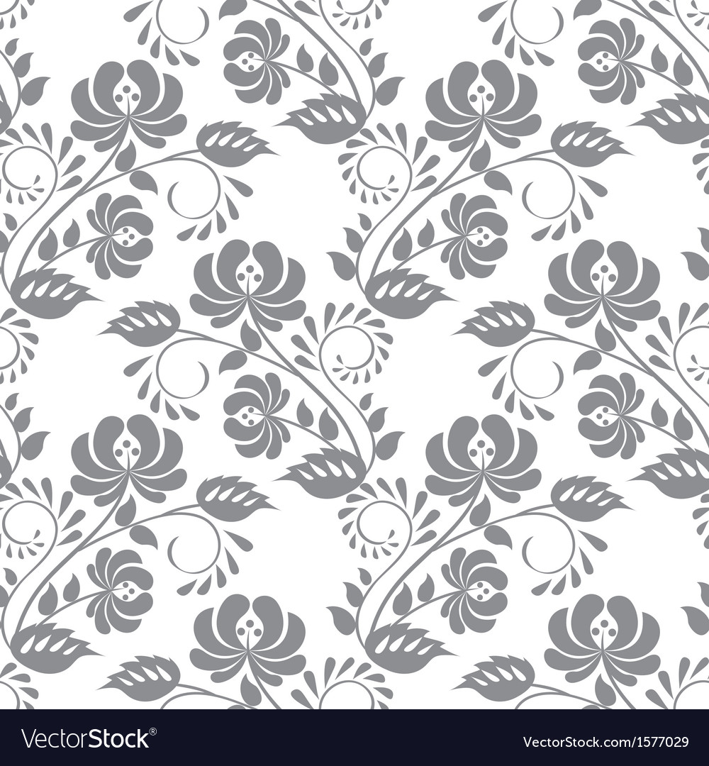 Gray rose on white background vector | Price: 1 Credit (USD $1)