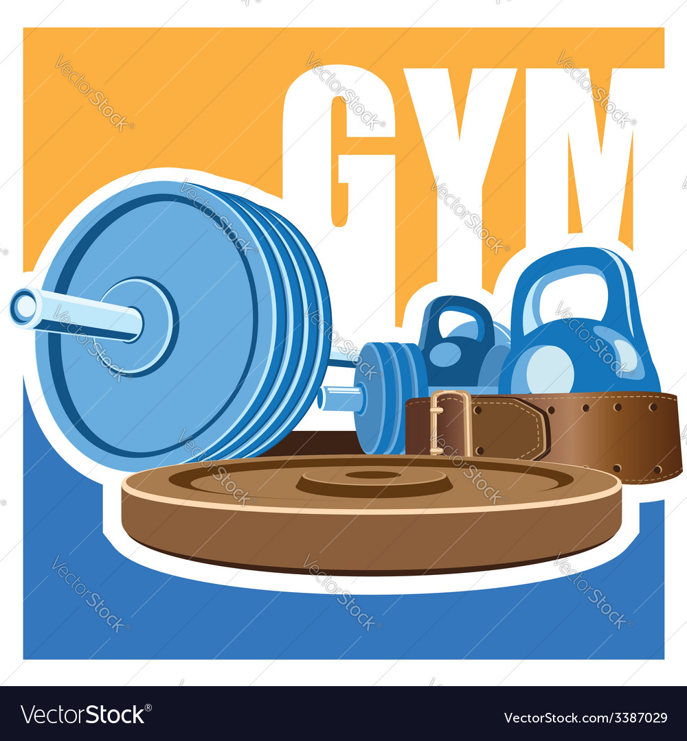 Gym vector | Price: 1 Credit (USD $1)