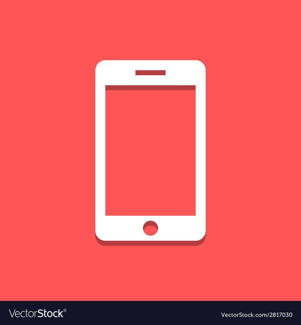 Cellphone icon vector | Price: 1 Credit (USD $1)