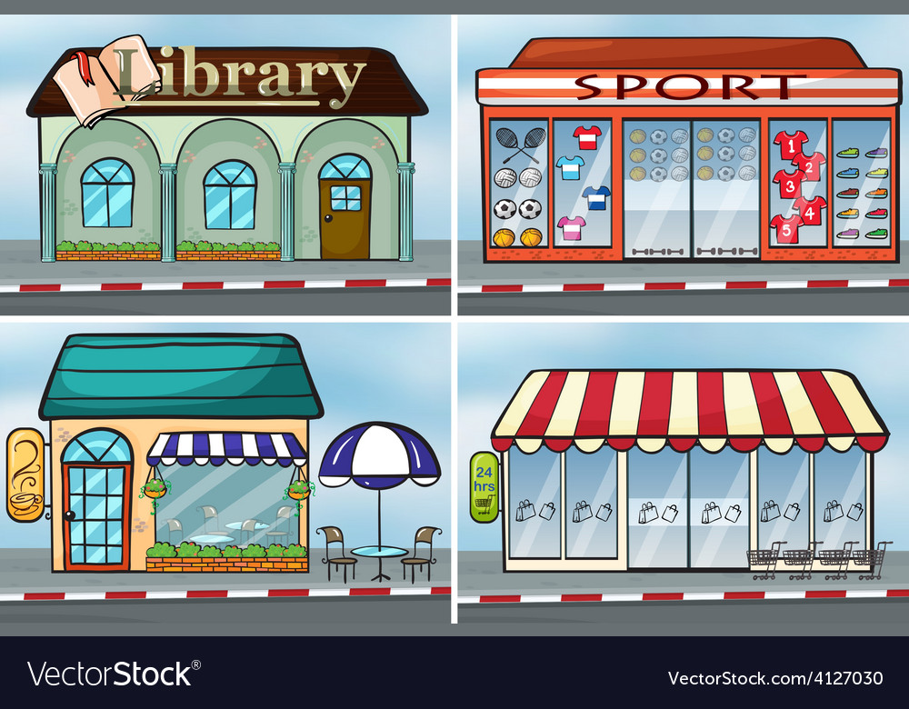 Shops vector | Price: 3 Credit (USD $3)
