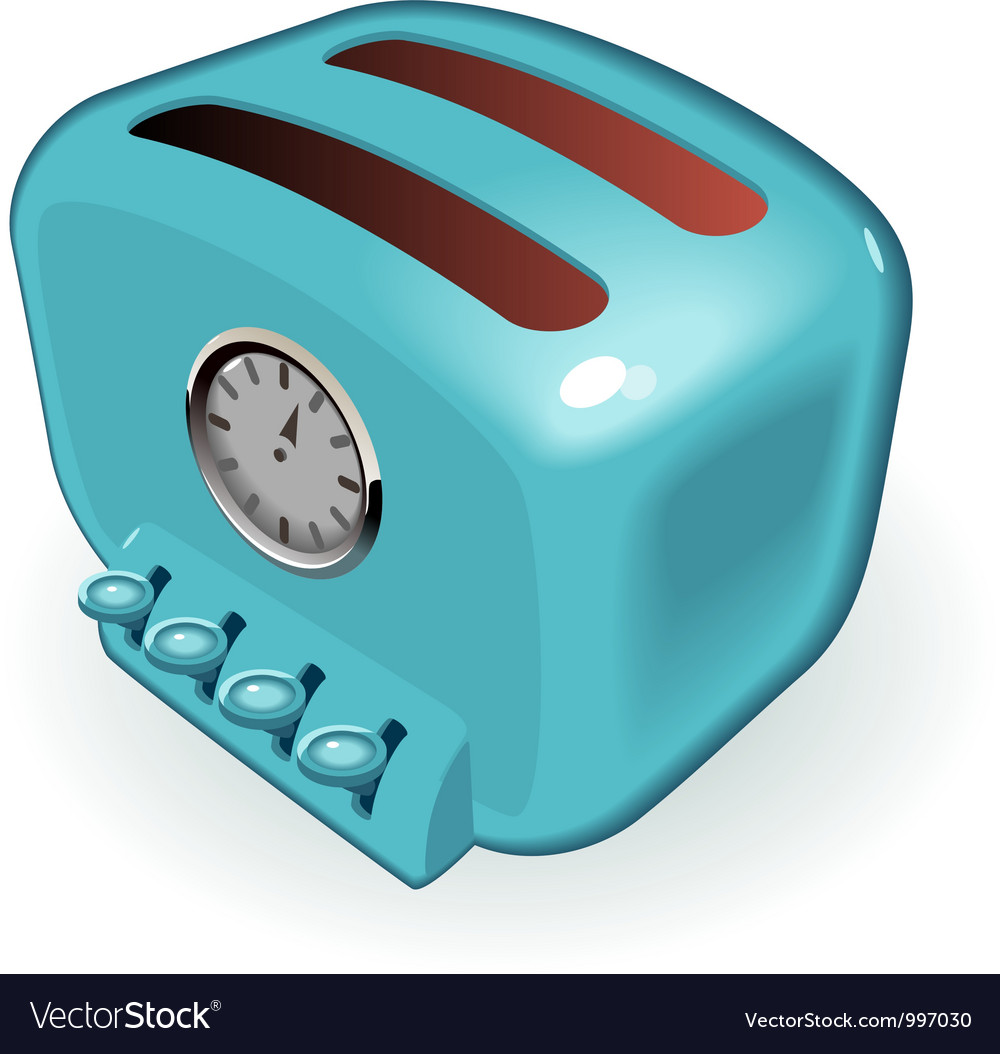 Toaster vector | Price: 3 Credit (USD $3)