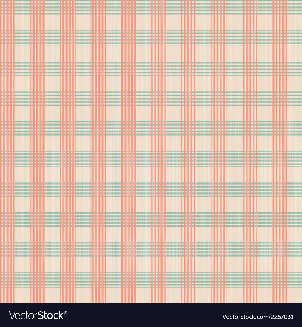 Abstract retro square tablecloth seamless pattern vector | Price: 1 Credit (USD $1)