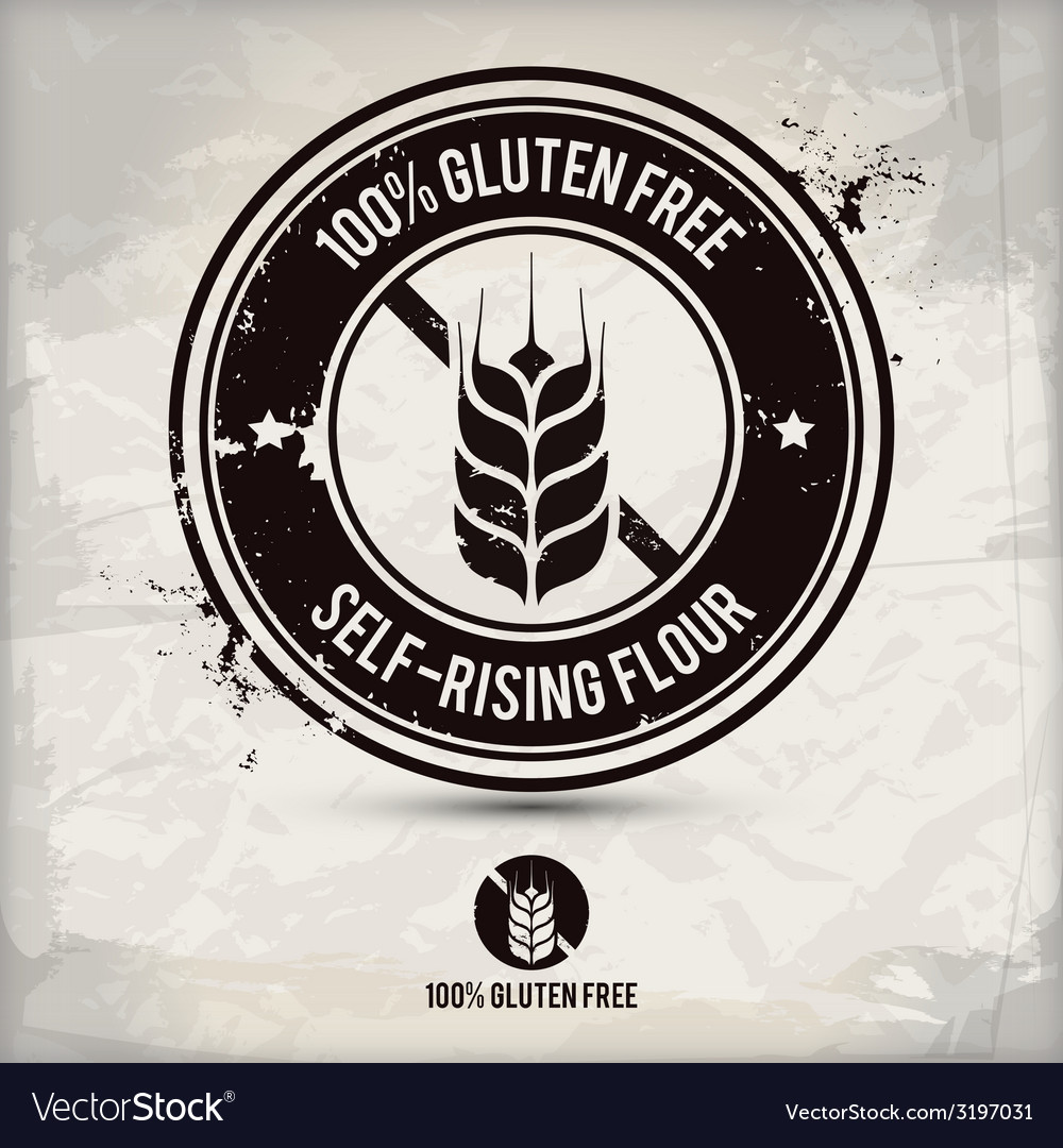 Alternative gluten free stamp vector | Price: 1 Credit (USD $1)