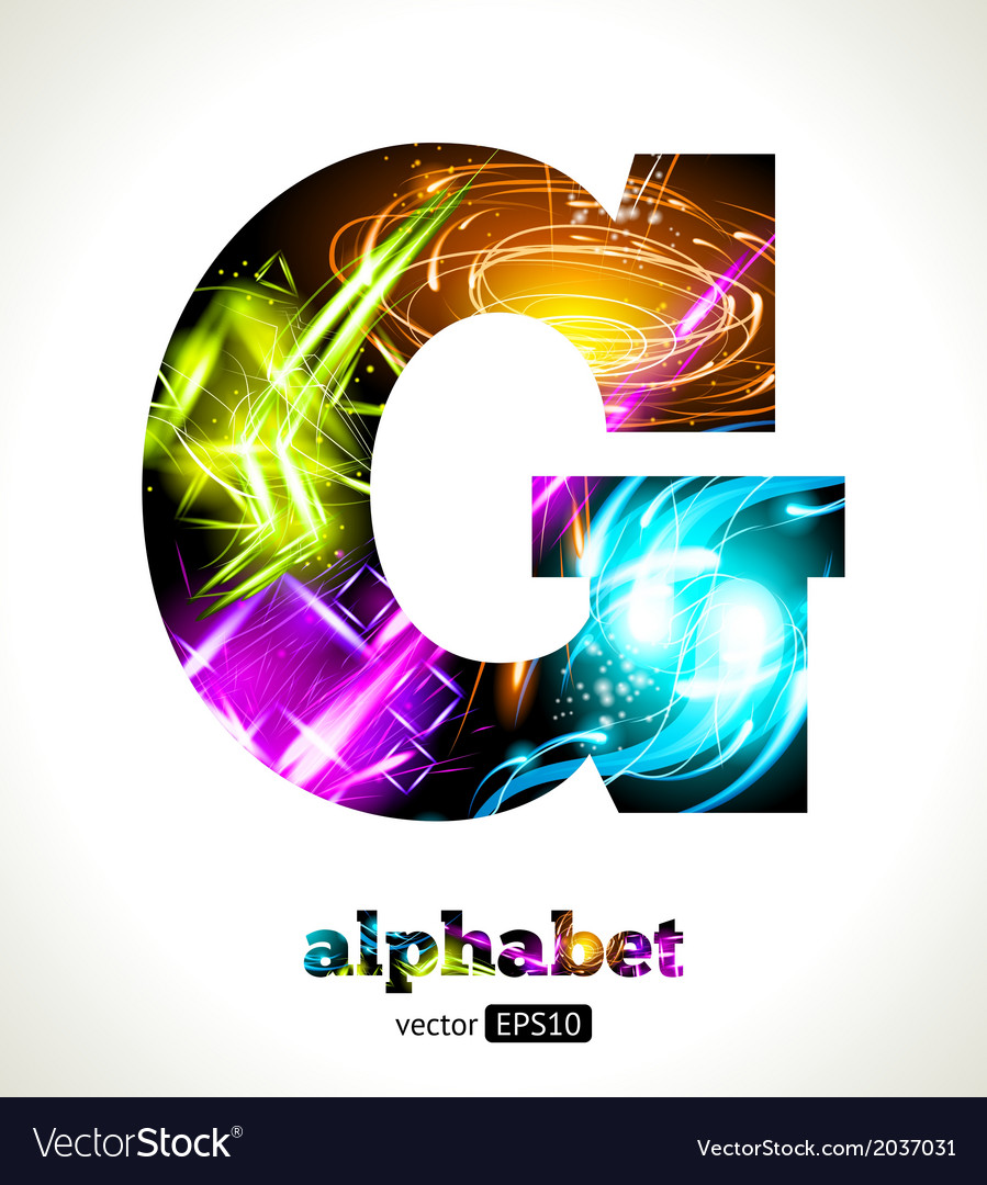 Design abstract letter g vector | Price: 1 Credit (USD $1)