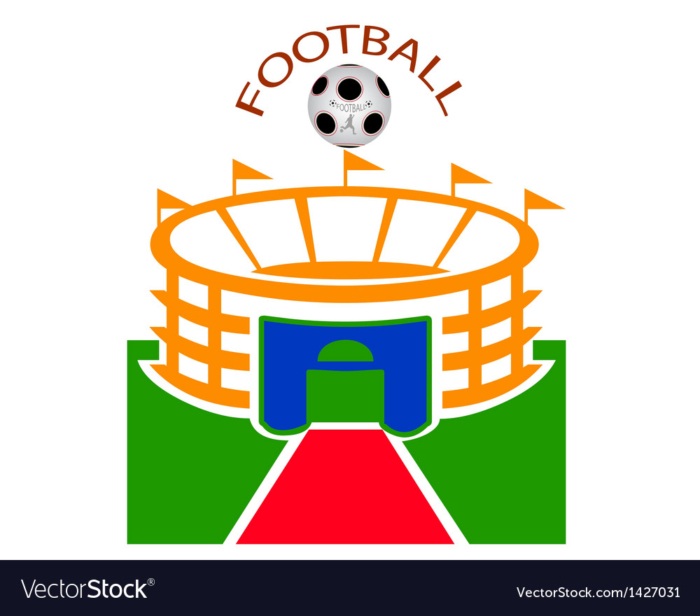 Football stadium vector | Price: 1 Credit (USD $1)